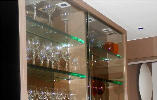 Móveis Cristal vidros